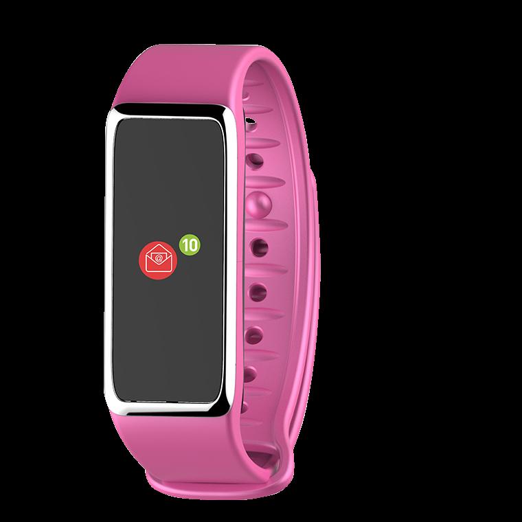 ZeFit3HR - Tracker d'activité avec capteur de rythme cardiaque - MyKronoz