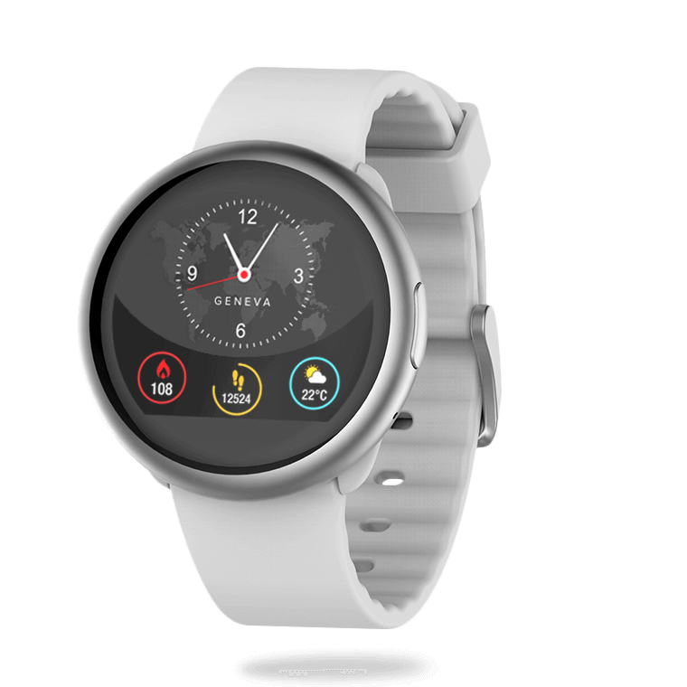 ZeRound2 - Smartwatch with circular color touchscreen - MyKronoz