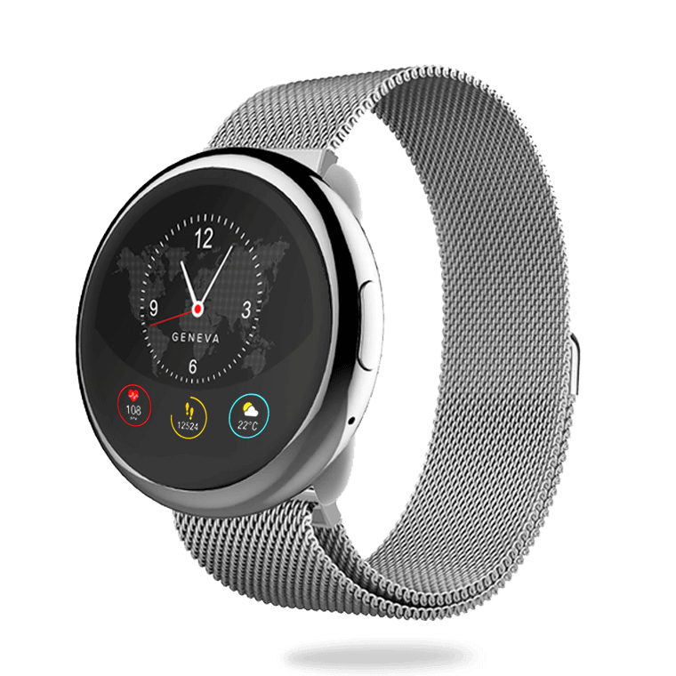 ZeRound2HR Elite - Elegant smartwatch with circular color touchscreen - MyKronoz
