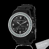 ZeClock - Swarovski Zirconia - Analoge Smartwatch mit Quarz-Uhrwerk - MyKronoz