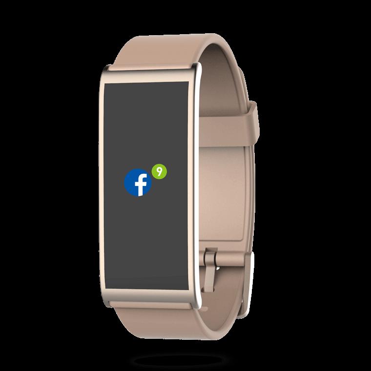 ZeFit4 - Aktivitätstracker mit farbigem Touchscreen - MyKronoz