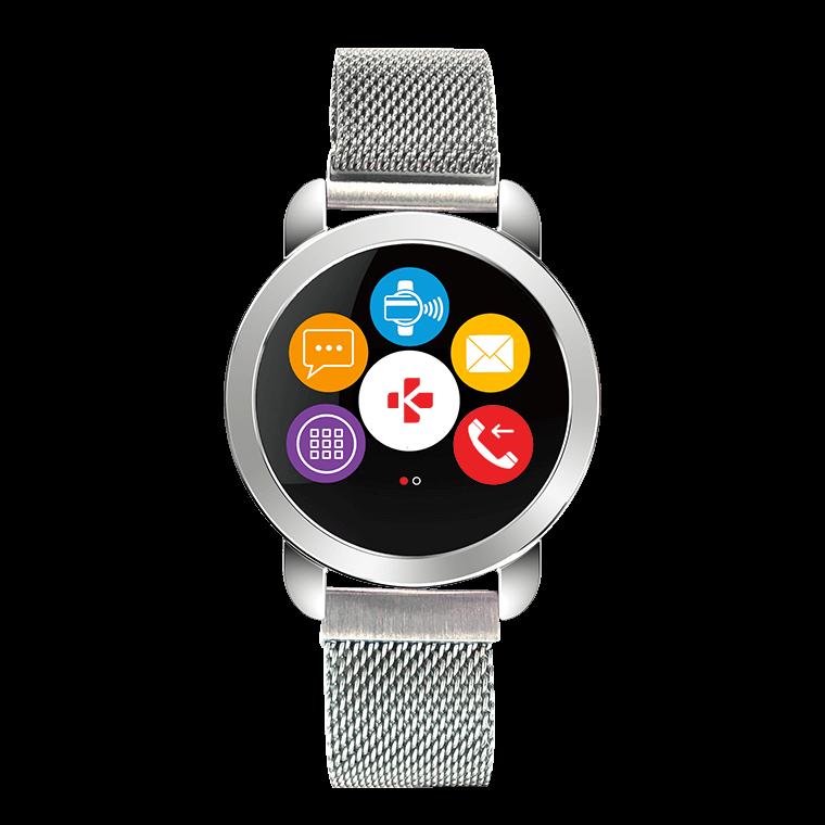 ZeCircle2 Premium - Eleganter Aktivitätstracker mit kontaktlosem Zahlen* - MyKronoz