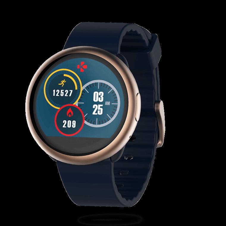 ZeRound2 - Smartwatch mit Rundem Touchscreen - MyKronoz