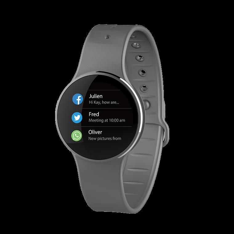 ZeCircle2 - Tracker d'activité avec paiement sans contact NFC  - MyKronoz