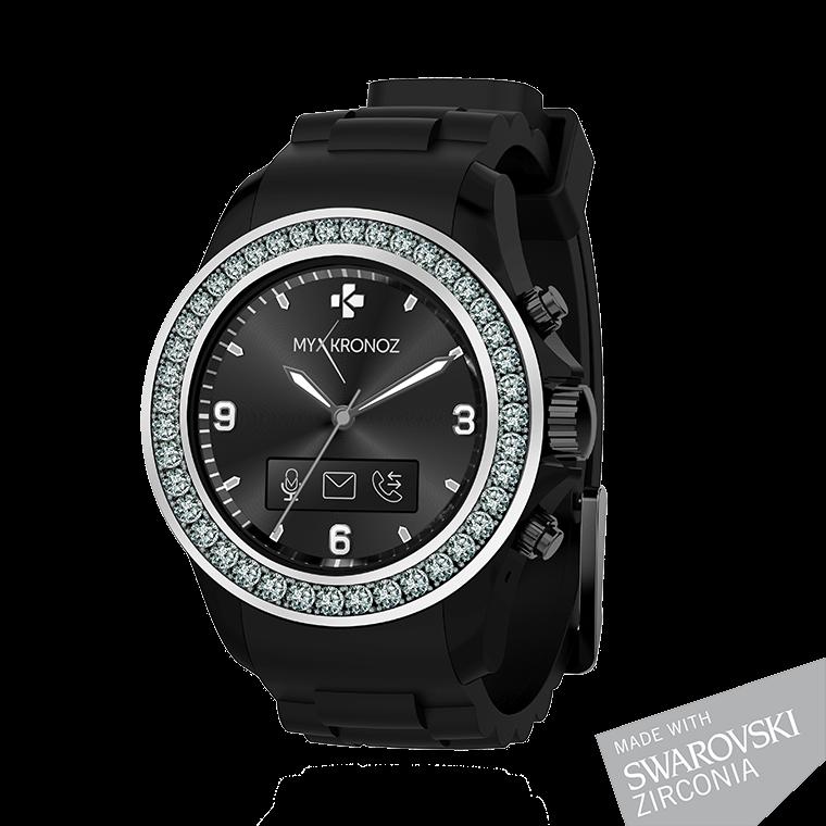 ZeClock - Elégante montre connectée analogique avec mouvement à quartz - MyKronoz