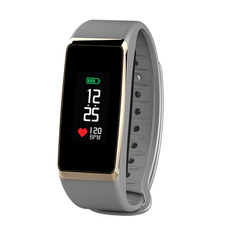 ZeFit2Pulse - Tracker d'activité avec capteur de rythme cardiaque - MyKronoz