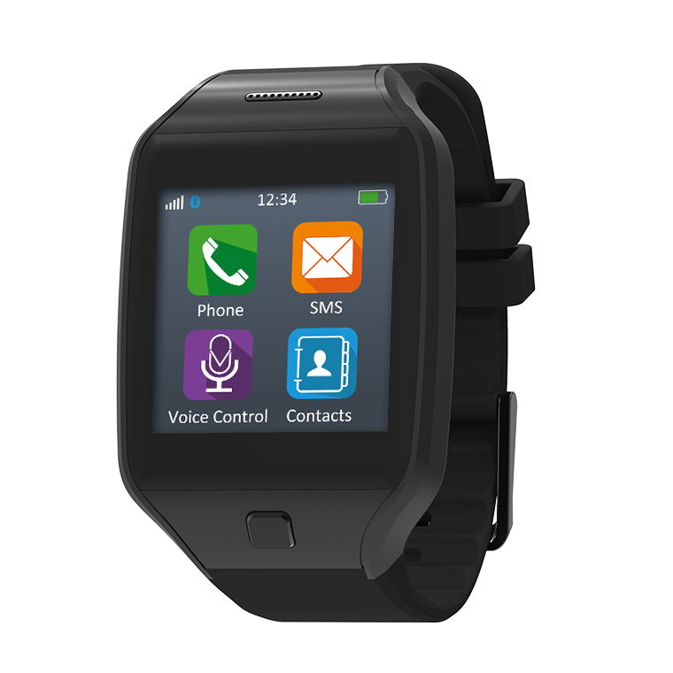 ZeTel - Montre-téléphone avec carte SIM 2G - MyKronoz