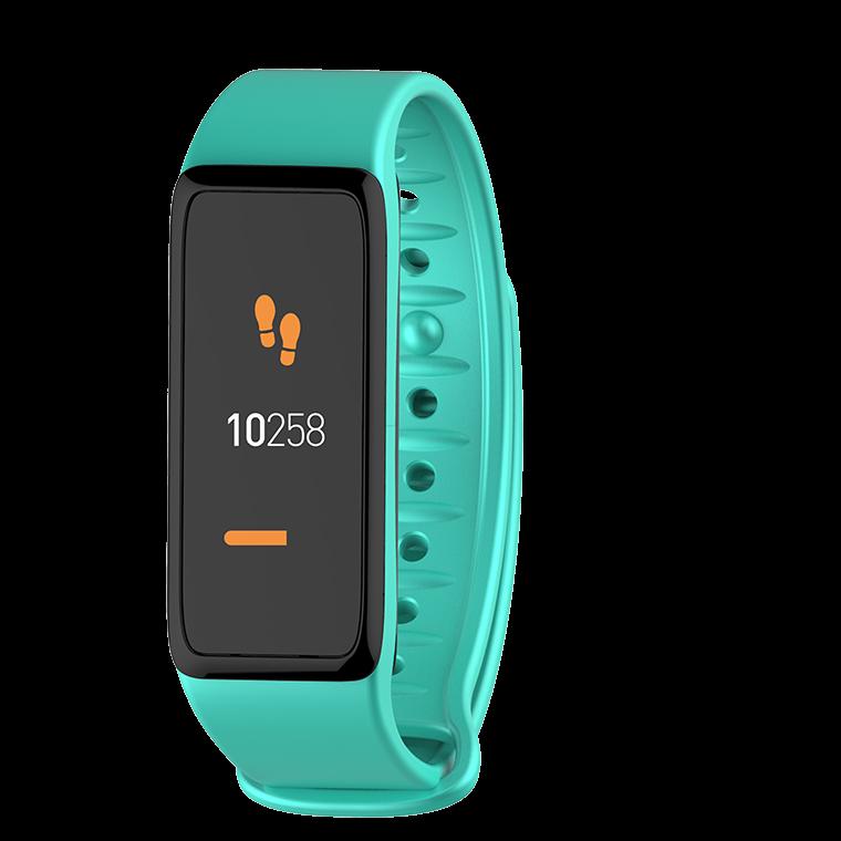 ZeFit3 HR - Aktivitätstracker mit farbigem Touchscreen und Herzfrequenzmonitor  - MyKronoz