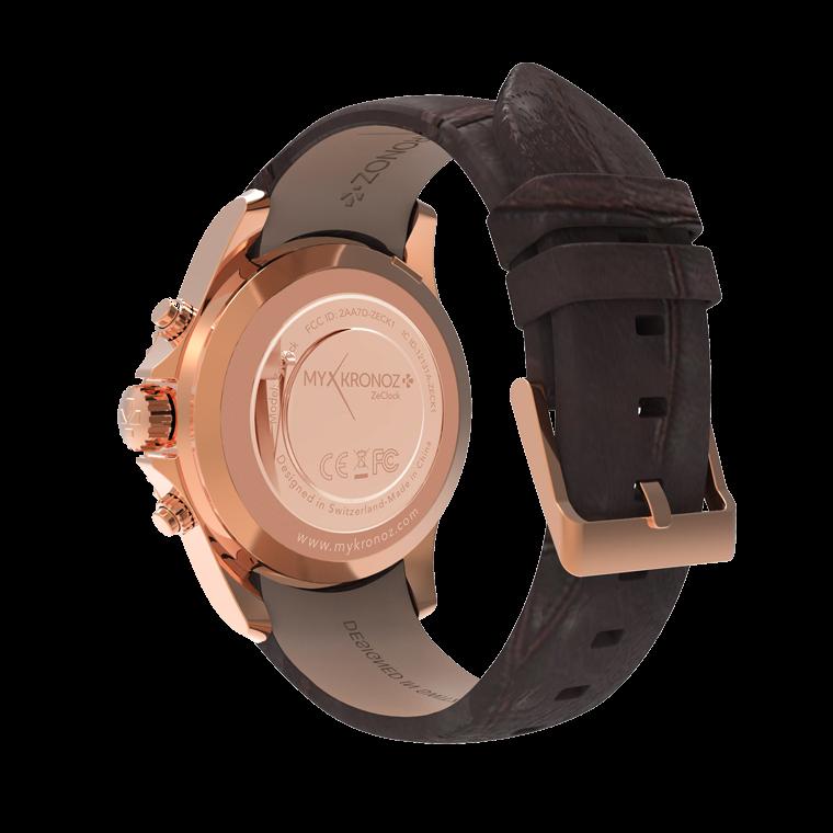 ZeClockPremium - Smartwatch analogico con movimento al quarzo - MyKronoz