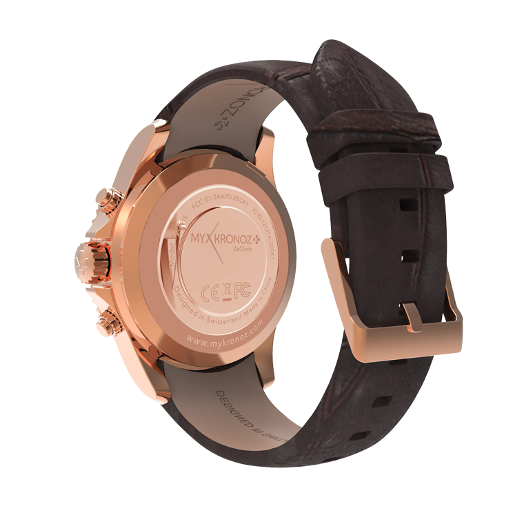 ZeClockPremium - Analog smartwatch with quartz movement - MyKronoz