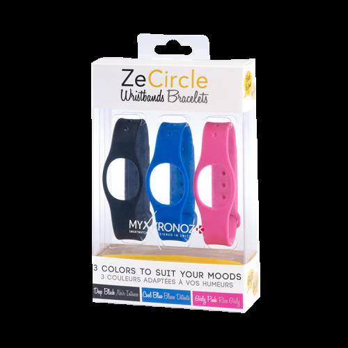 ZeCircle Wristbands x3