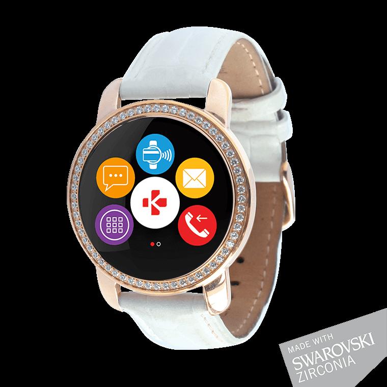 ZeCircle2 Swarovski Zirconia - Elegant activity tracker with contactless payment* - MyKronoz