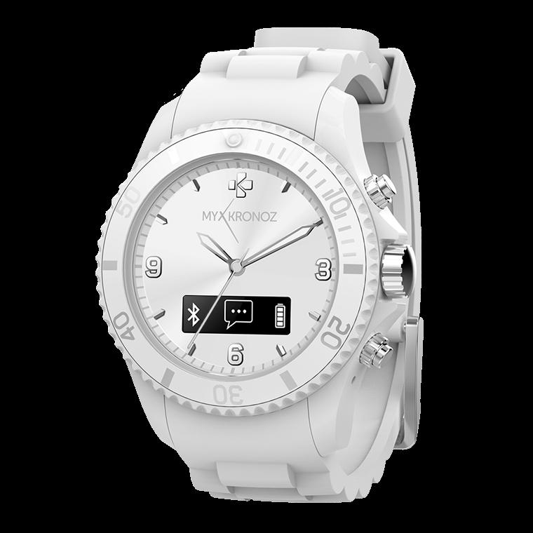 ZeClock - Analog smartwatch with quartz movement - MyKronoz