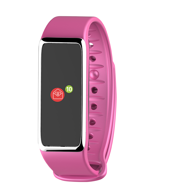 ZeFit3HR - Activity tracker with color touchscreen & heart-rate monitor  - MyKronoz