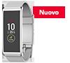 Activity tracker con schermo tocco colori e notifiche