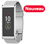 Tracker d'activité rectangulaire avec écran tactile couleur et smart notifications